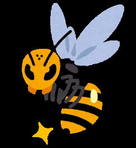 いらすとや「怖い蜂のイラスト」