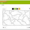 「四色問題」 四色定理が題材のシンプルな Flash ゲーム